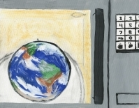 Microwave Earth by Megan Godtland